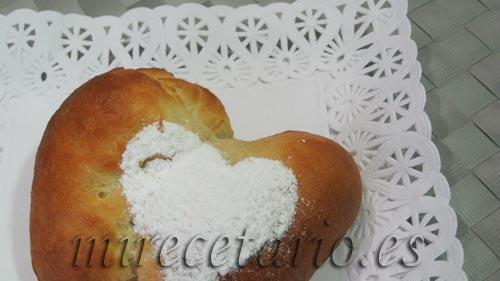 Corazón de Brioche para San Valentín