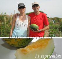 Nuestro melón recien parido