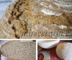 Hogaza de pan integral casera