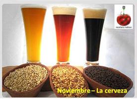Noviembre: cerveza en Recetario Mañoso