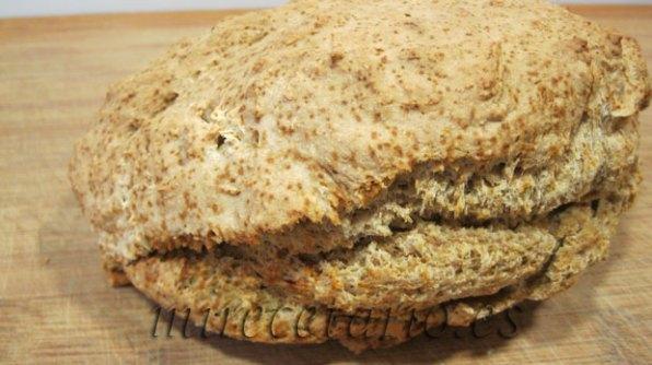 Irish soda bread o el otro pan ladrillo de soda irlandés.