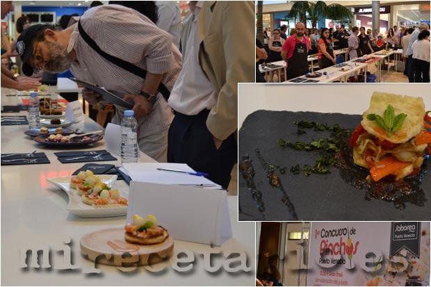 Concurso de Pintxos en Puerto Venecia