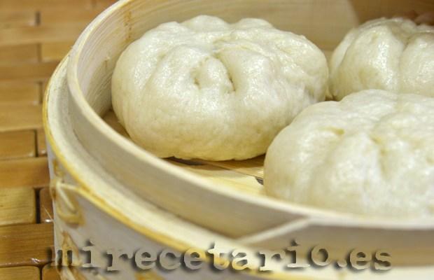 Pan chino al vapor {Baozis}