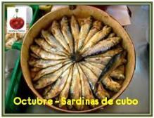 Recetario Mañoso de octubre, sardinas de cubo