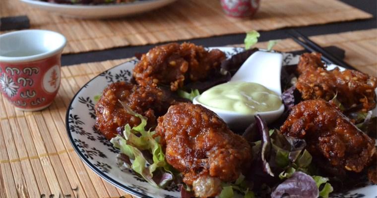 Tori No Karaage {Pollo frito japonés}