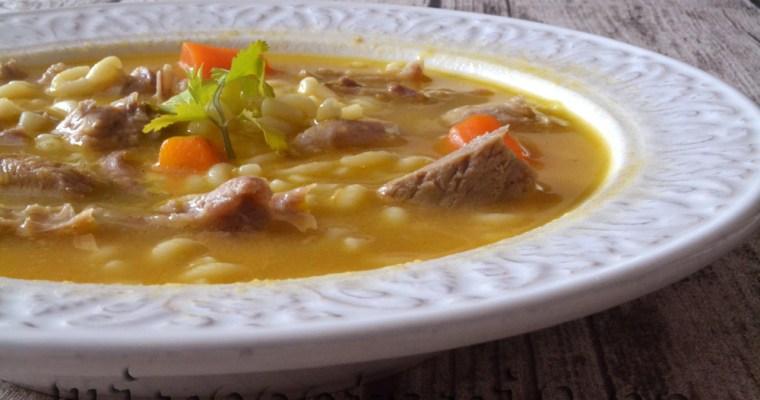 Sopa de Ternasco de Aragón