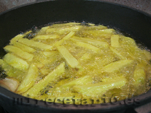 "Patatas fritas ""especiales"""