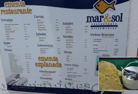 Los precios del restaurante Isla Berlenga
