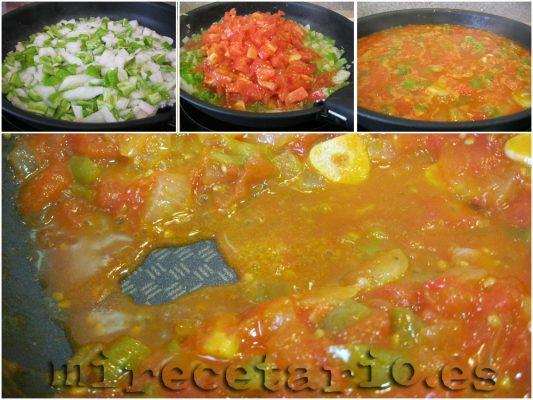 Salsa de tomate paso a apso