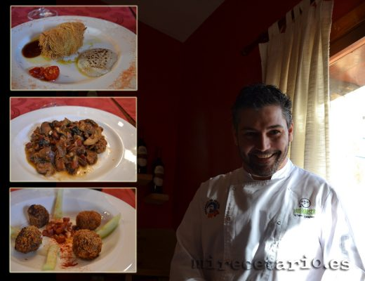 Los platos perfectamente maridados por Cristian