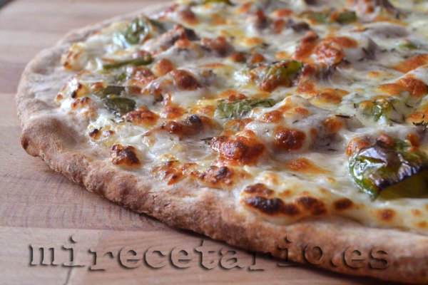 Pizza Integral de Ternasco