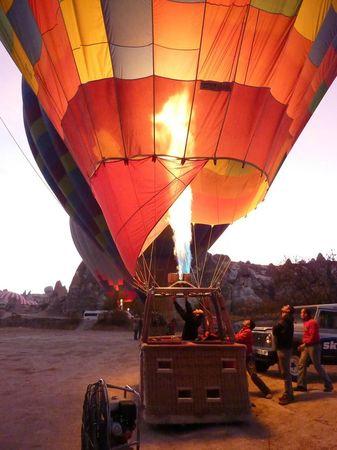 Ultime expérience la Cappadoce en Montgolfière