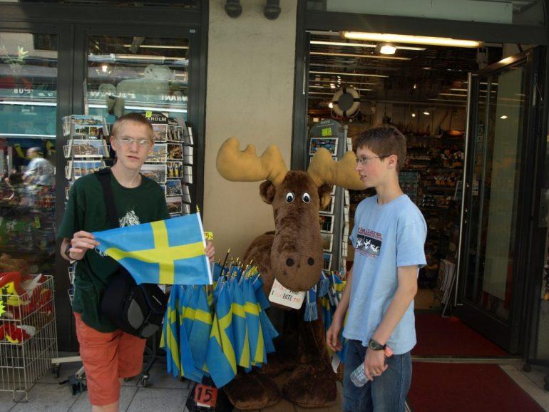 Capitales d'Europe Stockholm en Suède
