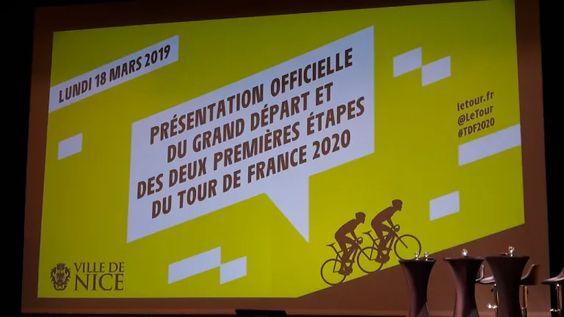 Tour de France 2020 départ de Nice