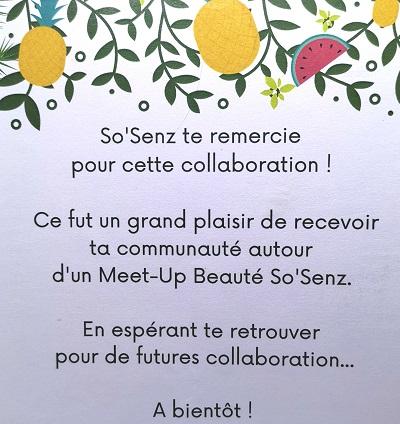 Bio-tea au coeur de Paris avec So'senz