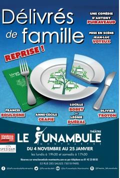 Théâtre « Délivrés de famille » au Funambule