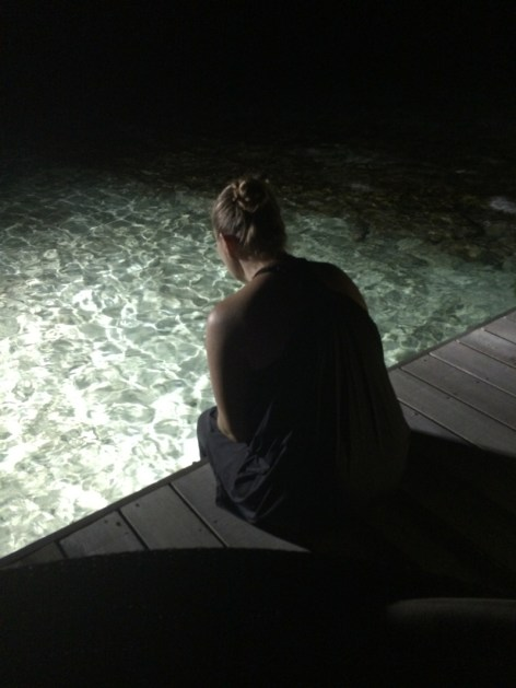 In den Riffs wohnen Babyhaie, die sich abends raus trauen. Ich wollte sie natürlich sehen ...(Foto: balkanblogger)