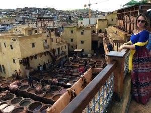 Dicas de 2 dias na cidade de Fez - Marrocos cortumes chouara