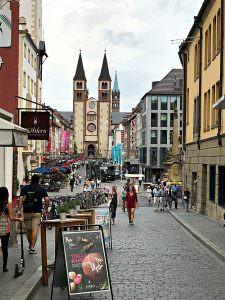 estrada romântica da Alemanha - Wurzburg