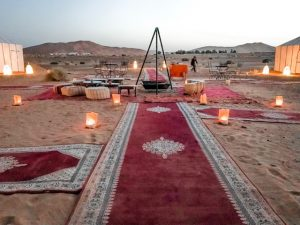 deserto do saara camping