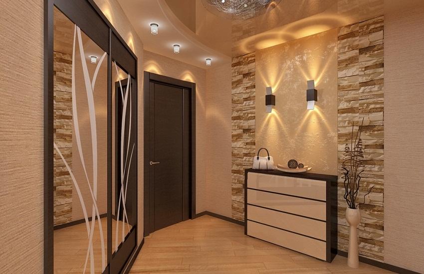дизайн коридора фото 2019 современные идеи в квартире 2