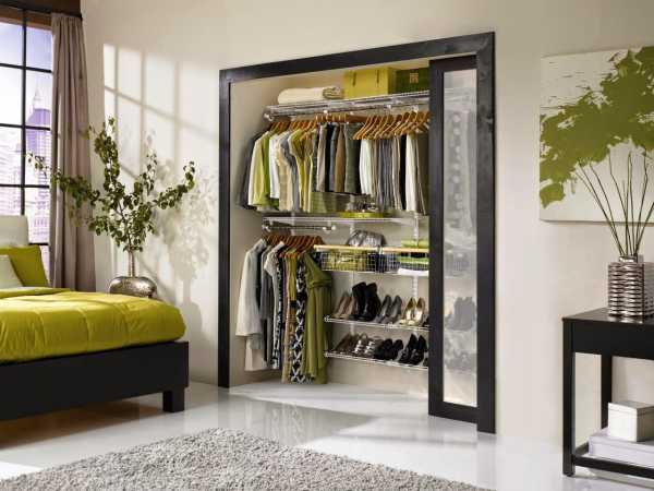 Раздвижные двери для гардеробной - Мир ремонта