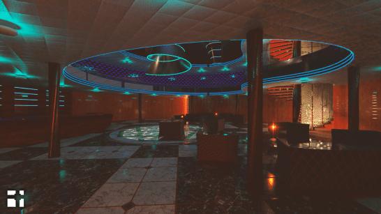 Hall at Night - 3