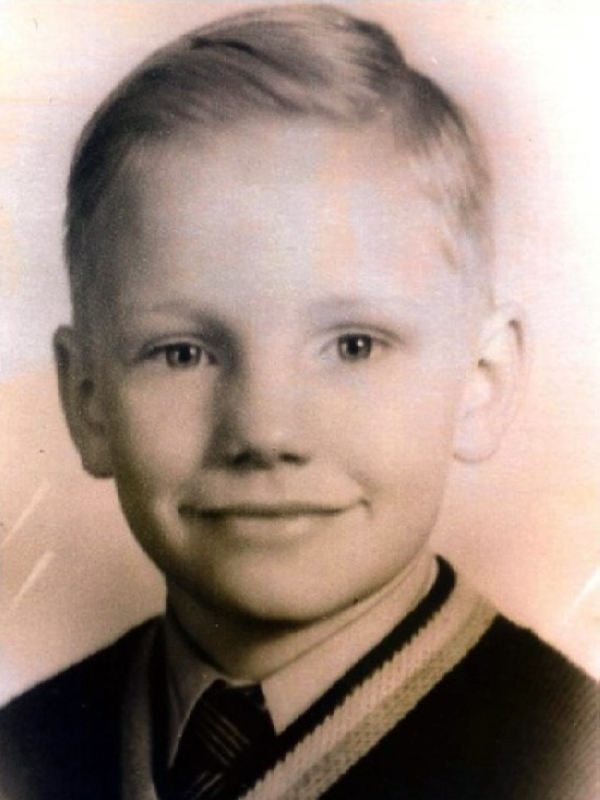 World of faces Neil Armstrong in his childhood World of
