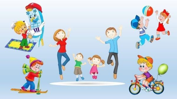 Рисунки здоровый образ жизни для детского сада: Рисунок ...