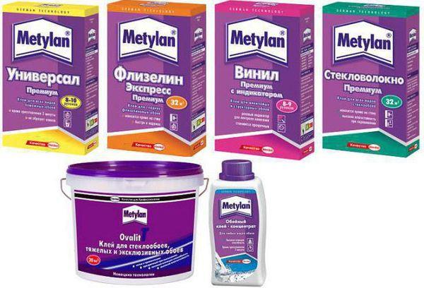 Клей метилан для виниловых обоев – разновидности и ...