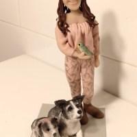 Chica amante de animales
