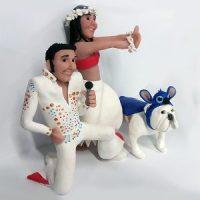 Boda en Valencia. Elvis, Lilo y Stitch