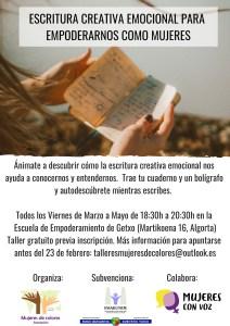 escritura emocional creatica