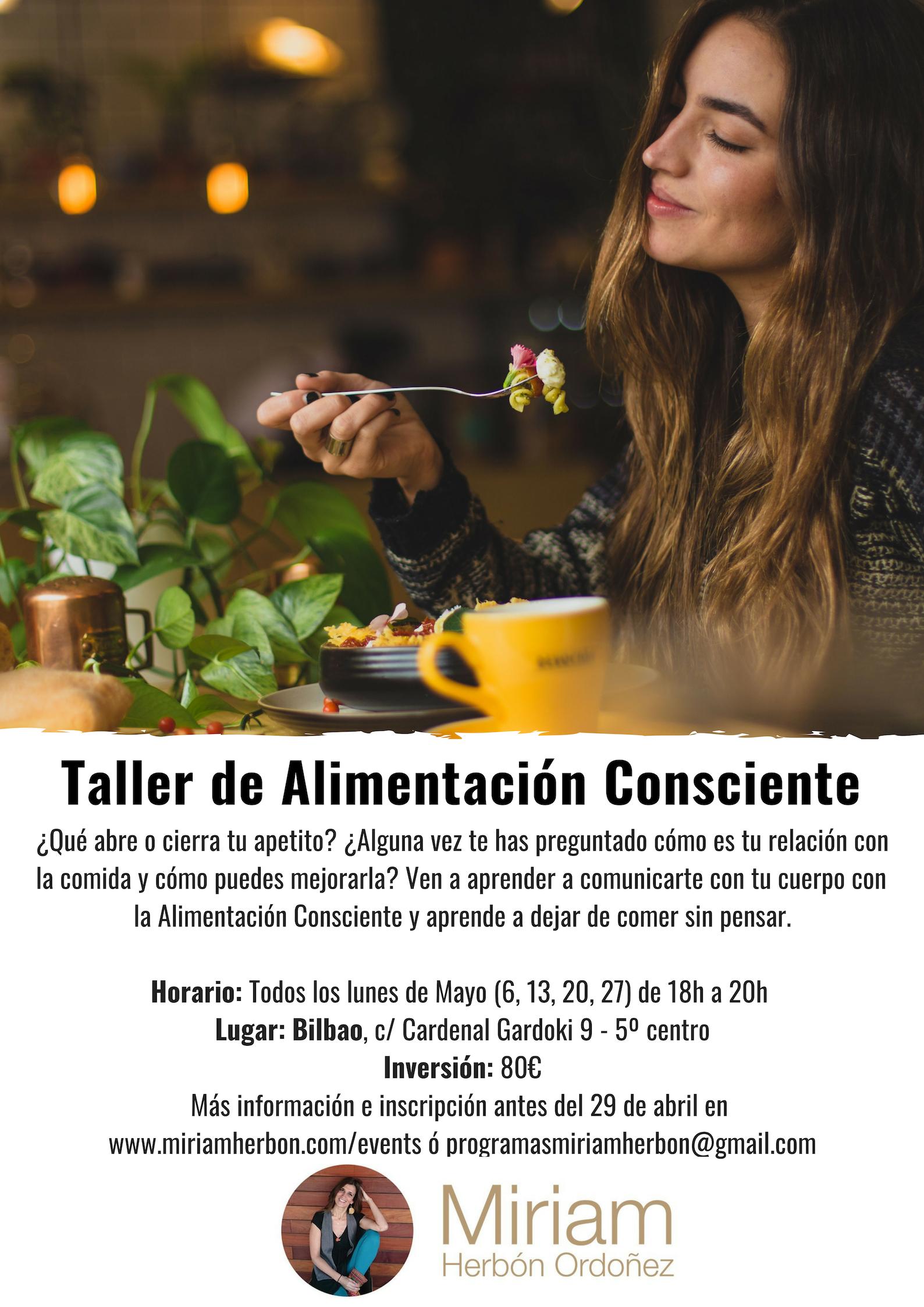 Alimentación Consciente en Mayo