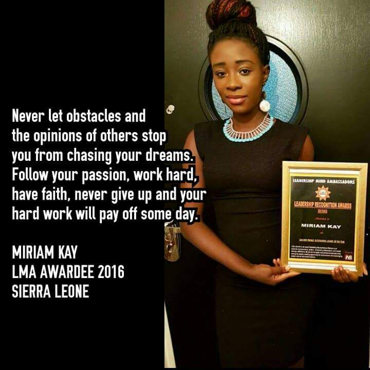"""Recognition Award for """"Best Most Outstanding Female Leader of the Year"""""""