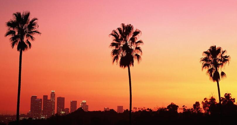Los Angeles California Sunset
