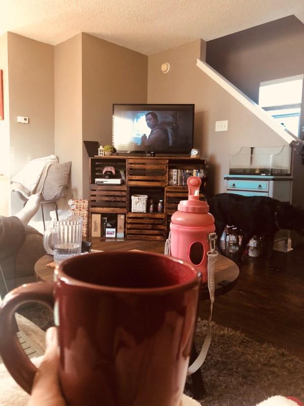 Coffee while watching Mandalorian