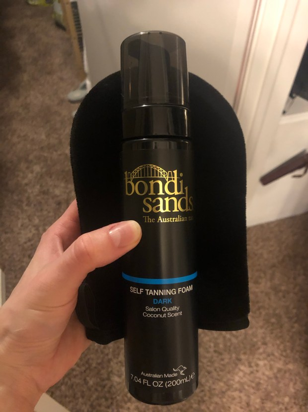 Bondi Sands self tanner