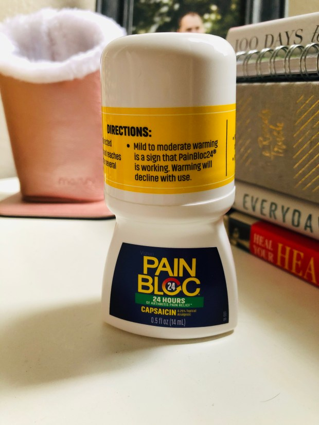 Capsaicin pain block cream