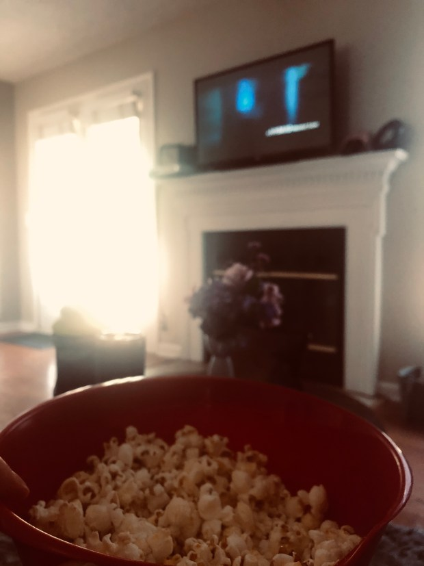Popcorn and a movie