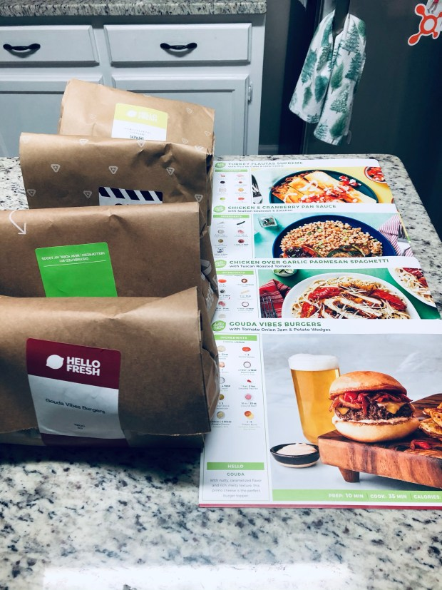 Hello Fresh meals of the week