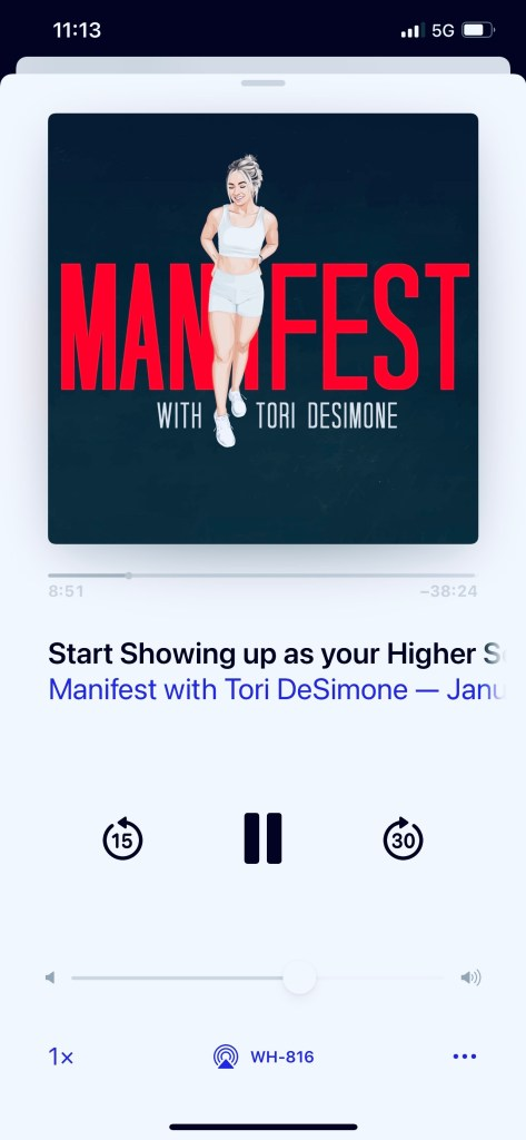 Manifest podcast episode