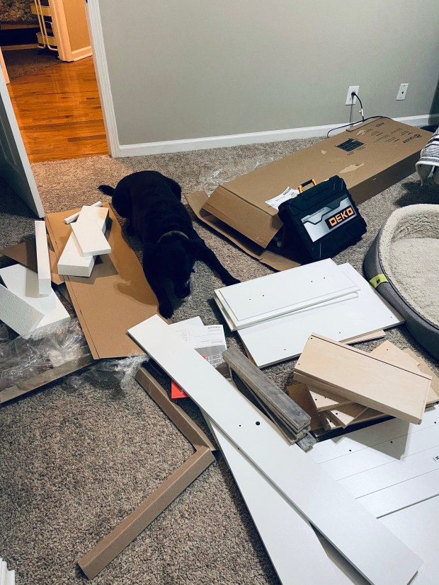 Building a dresser with Chance