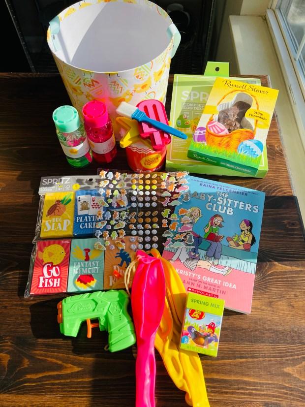 Easter basket for elementary age girl