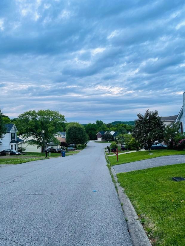 Walking view of the neighborhood