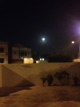 Full moon from my house