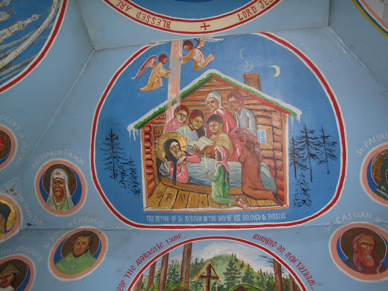Fresca: Sf Gherman din Alaska, Biserica de pe Insula Spruce
