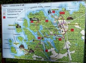 7 Harta Manastirii Valaam