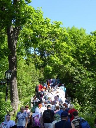 9 Hoarde de turisti, vara la Valaam