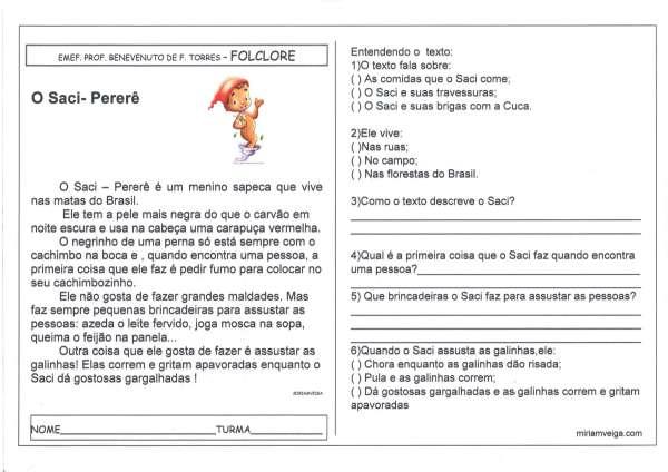 Saci Pererê 1-Folclore